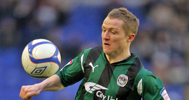 Gary McSheffrey: Earned praise from Andy Thorn after committing future to Coventry