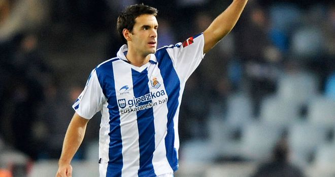 Xabi Prieto: Real Sociedad captain wants to end his career at the Basque giants