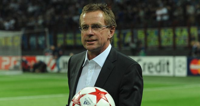 Rangnick: Feels Schalke have nothing to lose in the return leg against United after losing 2-0 at home