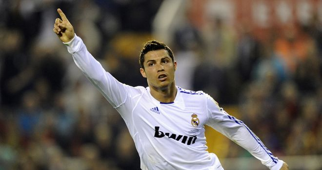 Ronaldo: Scored with a bullet header to clinch King's Cup