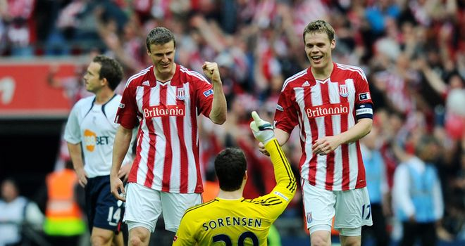 Shawcross & Huth: Going nowhere despite interest in a new defender