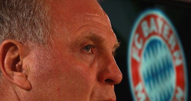 Uli Hoeness: Has hit out at rivals Dortmund