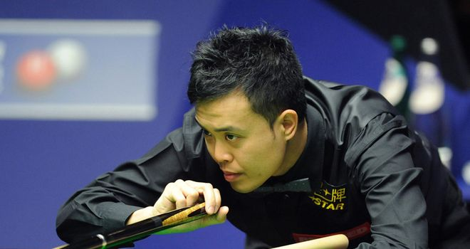 Marco Fu: finished off 5-3 win over Peter Lines with break of 80