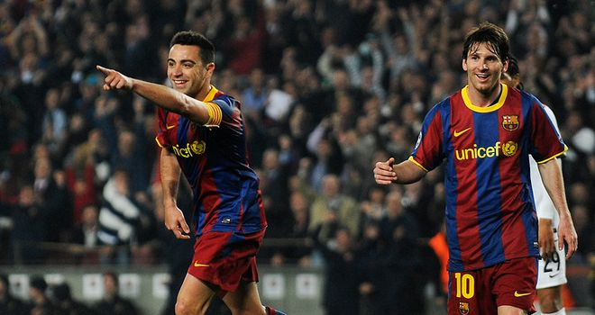 Xavi: Delighted with victory but less than impressed by Real's tactics