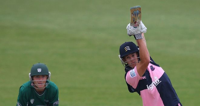 Dexter: top scored for Middlesex
