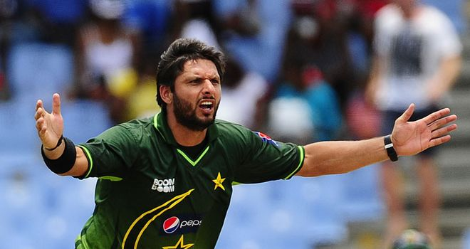 Afridi has been prevented from joining Hampshire