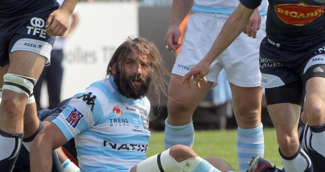 Chabal: said referees were biased towards Castres