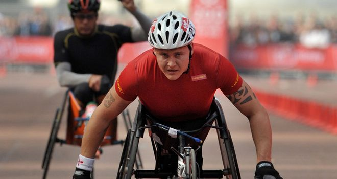 David Weir: Won two gold medals in Beijing