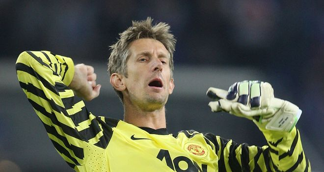 Van der Sar: Has questioned his impending retirement but is happy with his decision