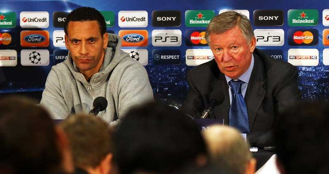 Sir Alex Ferguson: Happy with Rio Ferdinand