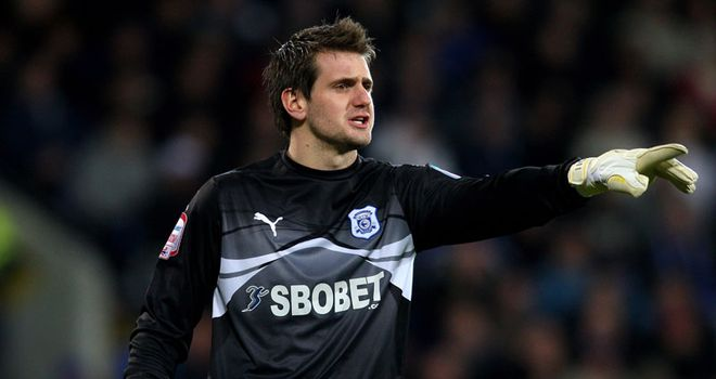 Tom Heaton: Encouraged by Cardiff's performance in the Carling Cup final