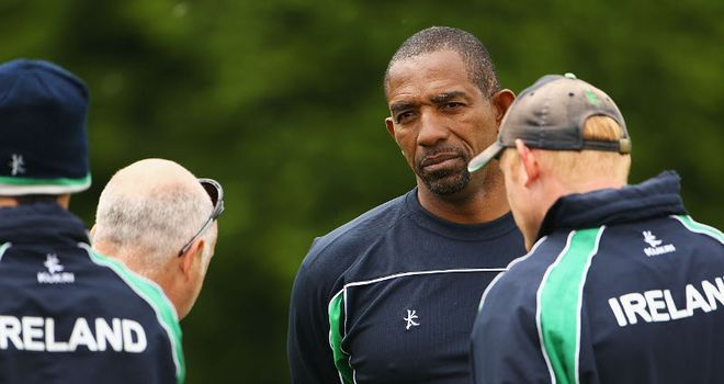 Phil Simmons: Delighted with talent available to him as Ireland coach