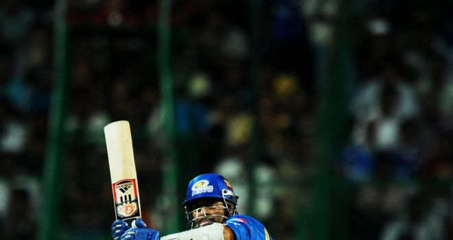 Tendulkar: hit seven fours in his 55 not out from 46 balls