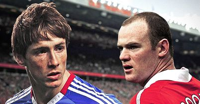 Torres and Rooney: Not a bad forward line