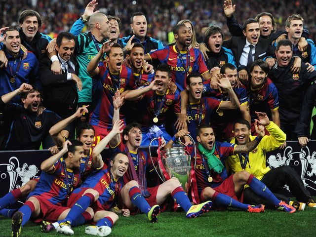 Barcelona are favourites to win the trophy again