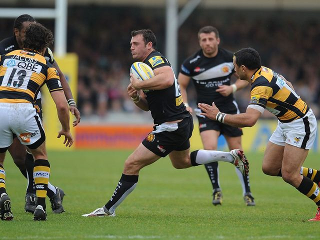 Luke Arscott: Happy to remain at Sandy Park