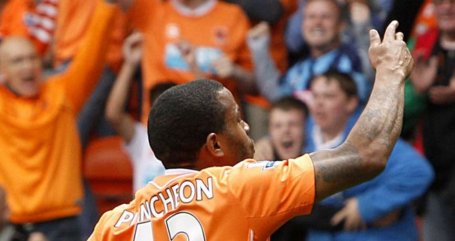 Puncheon: Attracting interest after impressing during his loan spell at Blackpool