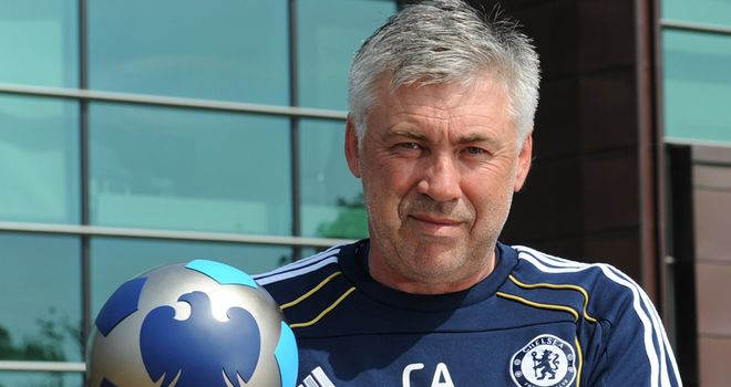 Ancelotti: Also won the Manager of the Month award in March