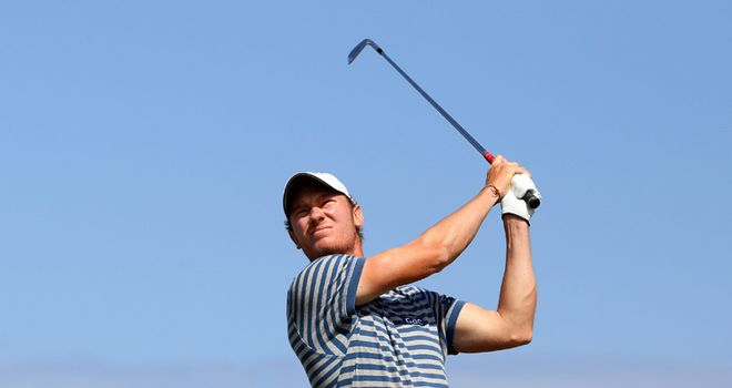 Chris in action last week at the Iberdrola Open where he finished runner-up to Darren Clarke