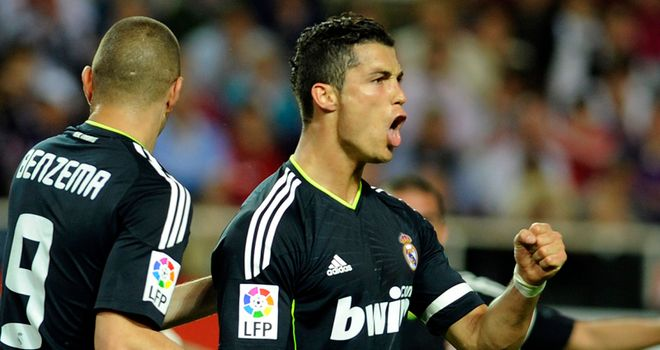 Ronaldo: Four-goal haul for Real