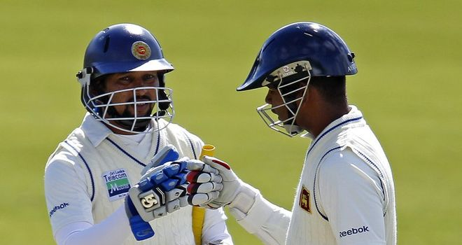Solid foundations: Dilshan and Paranavitana made early headway for Sri Lanka