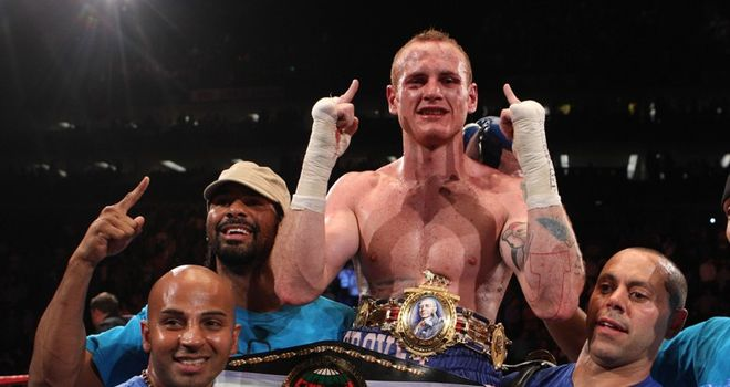 Groves: will be defending both his belts against Paul Smith in November