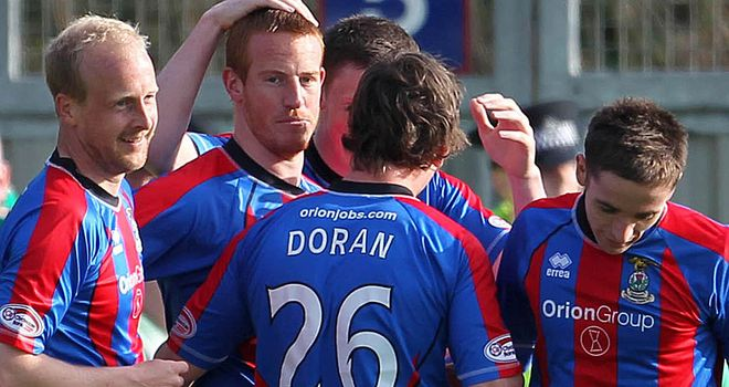 Inverness: Held to draw by Shots