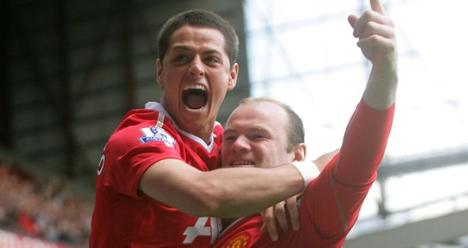 Rooney is tipping Hernandez to make an impact in the Champions League final