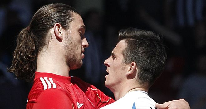 Carroll and Barton: Formed a productive partnership at St James' Park