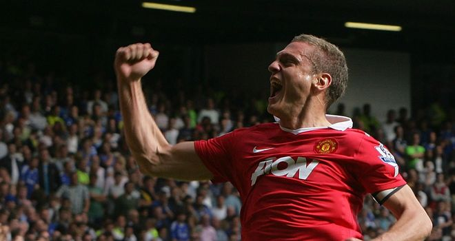 Vidic: Vowing to go all out against Blackpool