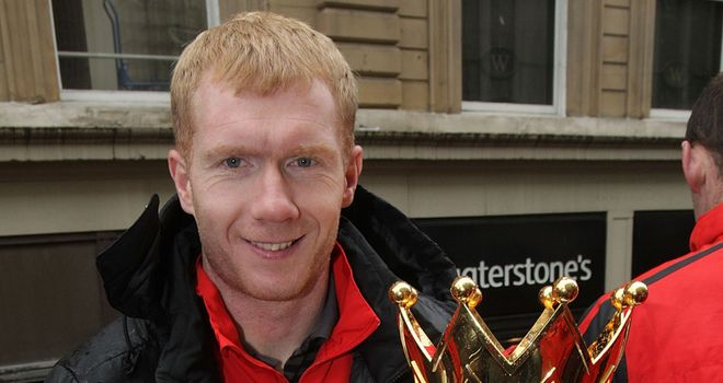 Scholes: a United legend