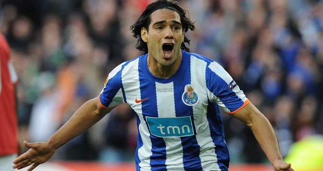 Falcao: Strongly linked with move to Chelsea if Villas-Boas takes over