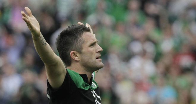 Keane: Republic of Ireland international has emerged as a possible target for Bolton