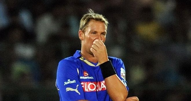 Warne: Hefty fine for IPL bust-up