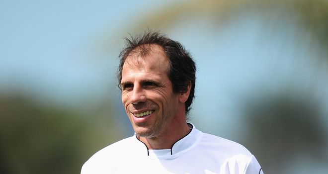 Gianfranco Zola: Has introduced seven new players at Watford