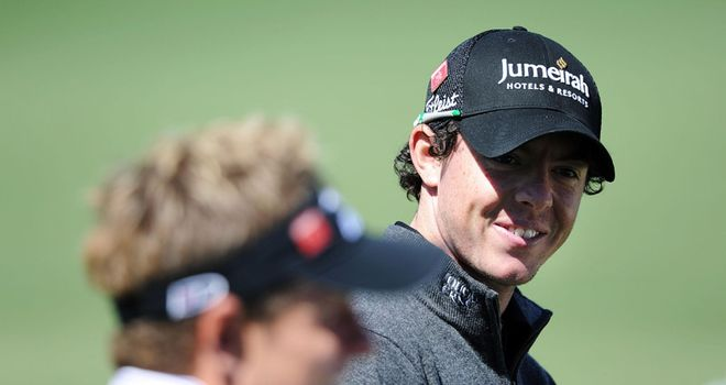 McIlroy (R) & Donald: both looking to bounce back from disappointment at Wentworth
