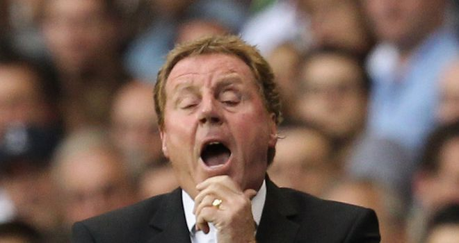 Redknapp: Has labelled the Europa League a 'killer' this season