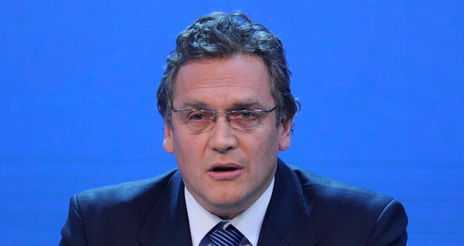 Jerome Valcke: No plans to move the World Cup away from Brazil