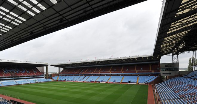Aston Villa's match against Bolton on Tuesday will not go ahead