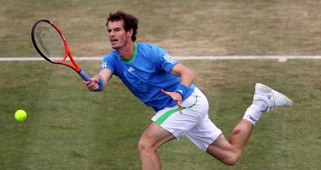 Murray: On course for Nadal semi-final
