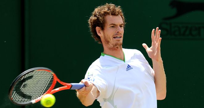 Murray: third year in a row he lost in Wimbledon semi-finals