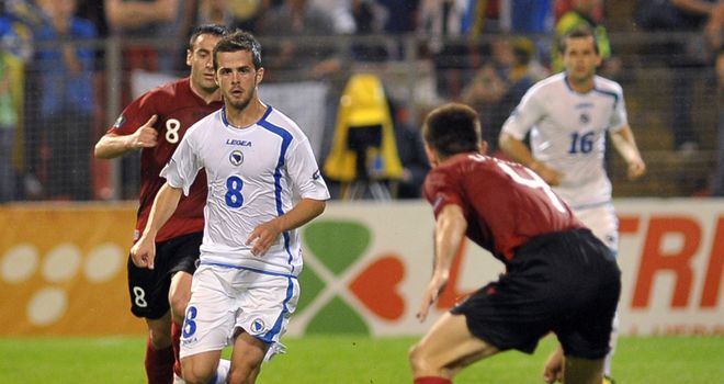 Pjanic: The playmaker has signed a four-year contract