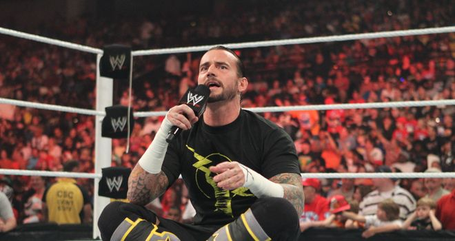 Punk: delivered on his promise of leaving with the WWE Championship
