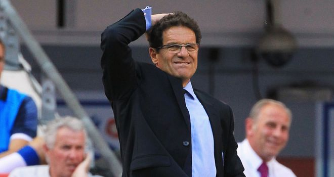 Capello: His England team are up to fourth in the world despite a run of mixed results