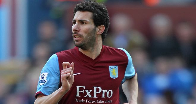 Carlos Cuellar: Has enjoyed regular football recently at Aston Villa