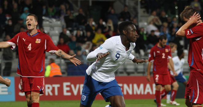 Welbeck: Among a number of full internationals in the Under-21 squad