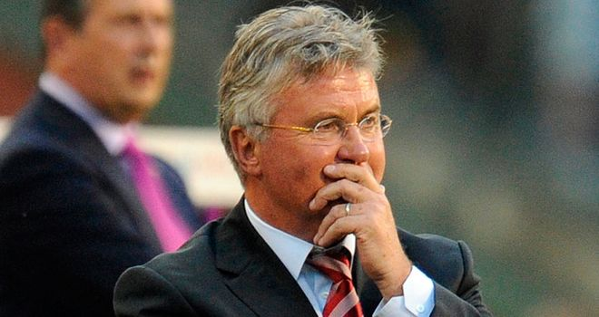 Guus Hiddink: Left post following failure to qualify for Euro 2012