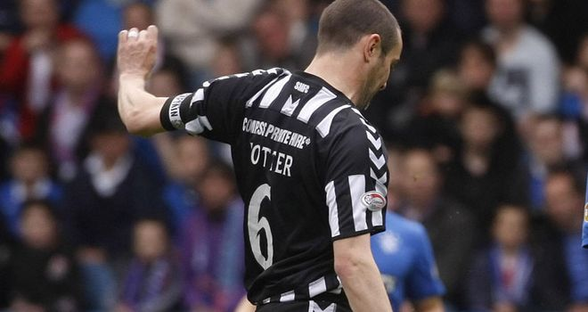 Potter: Returning to Dunfermline after being released by St Mirren
