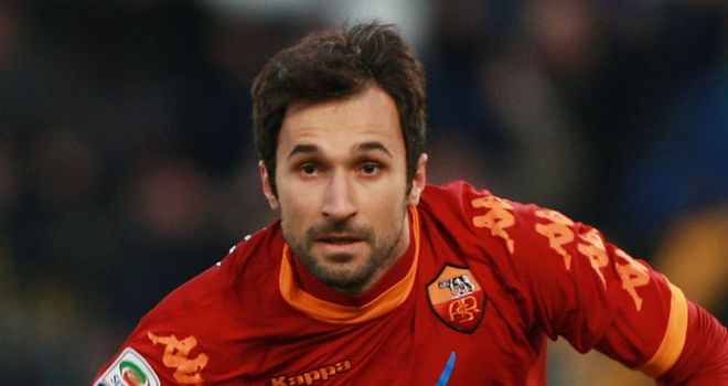 Vucinic: Expected to leave Roma this summer and Manchester United are said to be interested