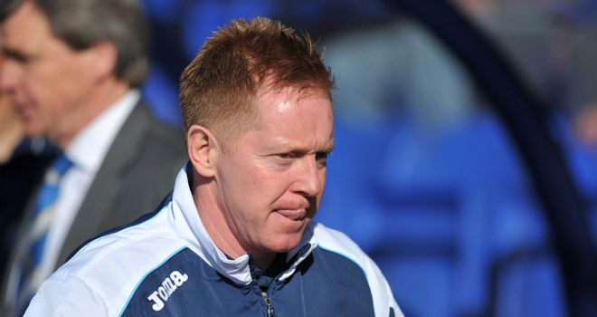 Waddock: Takes heat off players